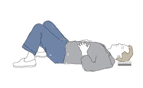 semi supine active rest position